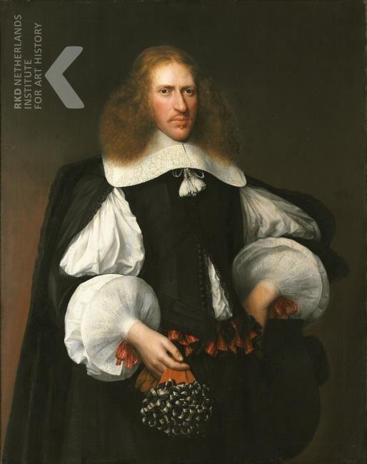 Abraham Liedts, portrait of Meyndert Merens (1621-1681) 1659 - Hoorn Westfries Museum