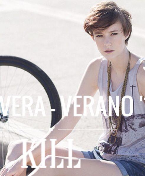 Campaña Kill SS 2015 ph Mina Lopez Blanco Make up Mechi Peralta