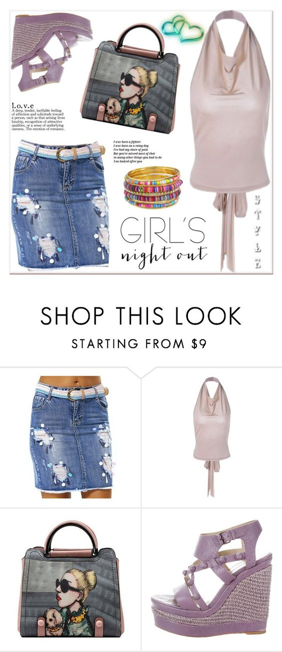 """""""T2/7"""" by jecakns ❤ liked on Polyvore featuring Balenciaga and girlsnightout"""