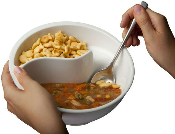 Obol Cereal Bowl... what a great idea!