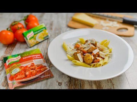 Tortellini de Ricota e Espinafres com Molho de Queijo - Receitas Knorr - YouTube