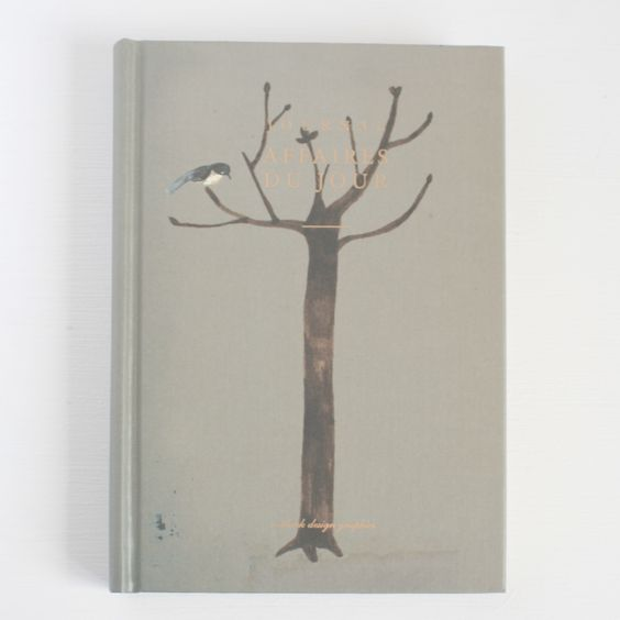 Mainly grey but so lovely - Tree hardback journal from Quill London