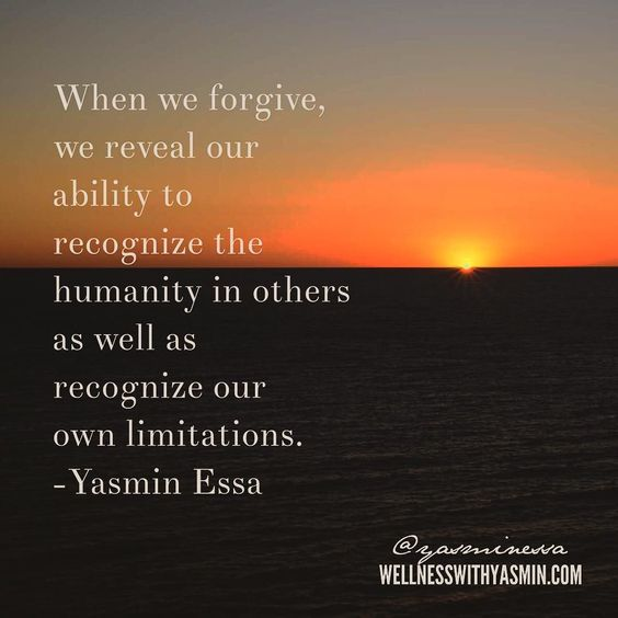We all need forgiveness so it's beneficial to humble ourselves and forgive others. Yesterday I posted some inspirations for setting boundaries and valuing your self-worth in light of people that hurt you. When you take those concepts and marry them to the concept of forgiveness you have a formula for balance deeper connections and increased satisfaction! And He knows best!  . And whoever is patient and forgives - indeed that is of the matters [requiring] determination. {Qur'an 42:43} . The…
