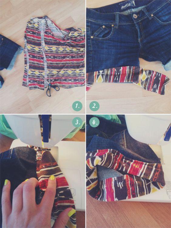 Schenk deiner Jeans ein zweites Leben.