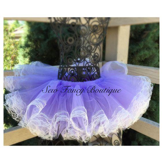 Lavender Lace Tutu
