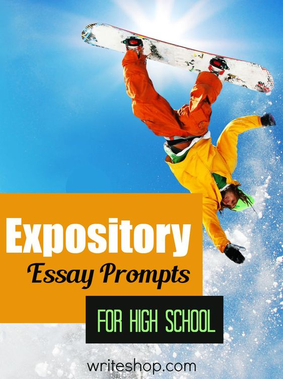 Expository Writing Prompts for All Grades