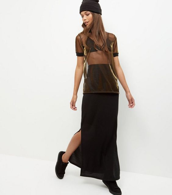 http://www.newlook.com/eu/shop/womens/tops/gold-metallic-mesh-t-shirt-_389417793