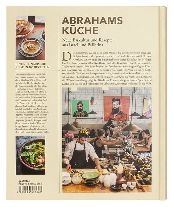 Gestalten   Abrahams Küche. Neue Esskultur und Rezepte aus Israel und Palästina