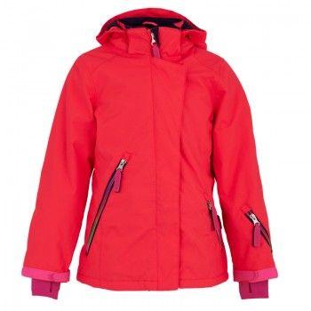 Molo Girls Fiery Coral Pearson Ski Jacket | AlexandAlexa