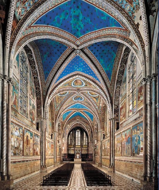 Assisi, Italy-Basilica of St. Francis