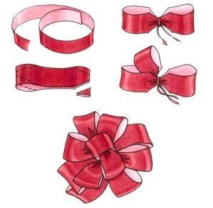 Navidad tans and originals on pinterest - Lazos para el arbol de navidad ...