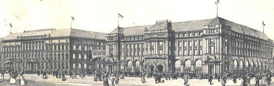 Berlin Main Building Hauptgebaude 1910 Building Berlin Maine
