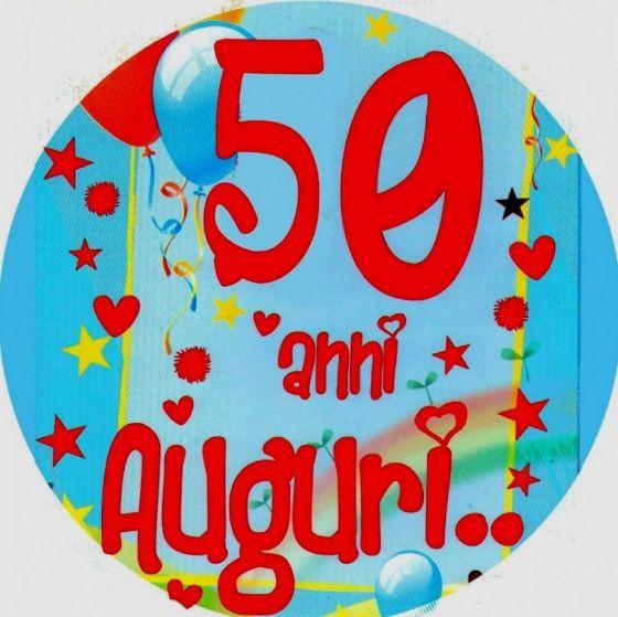 Auguri Compleanno 50 Anni In Rima Archives Semplice Invito