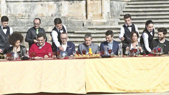O banquete dos convidados... e dos concorrentes :) #MCJunior #Supermercado
