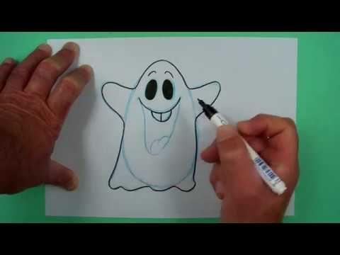 Lustiges Halloween Gespenst Zeichnen Nicht Nur Fur Kinder Youtube Lustige Halloween Kinder Zeichnen Halloween