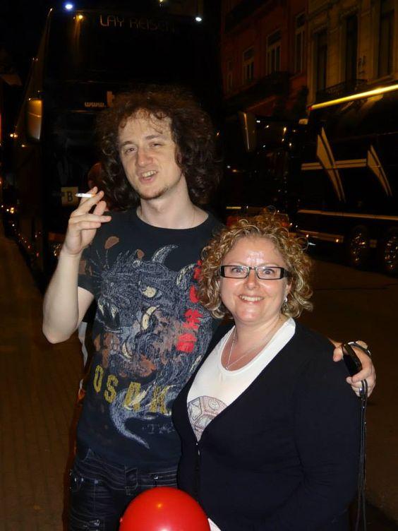 Sandy Scheepers  June 12 ·   Ruslan and me — with Ruslan Sirota at Cirque Royal