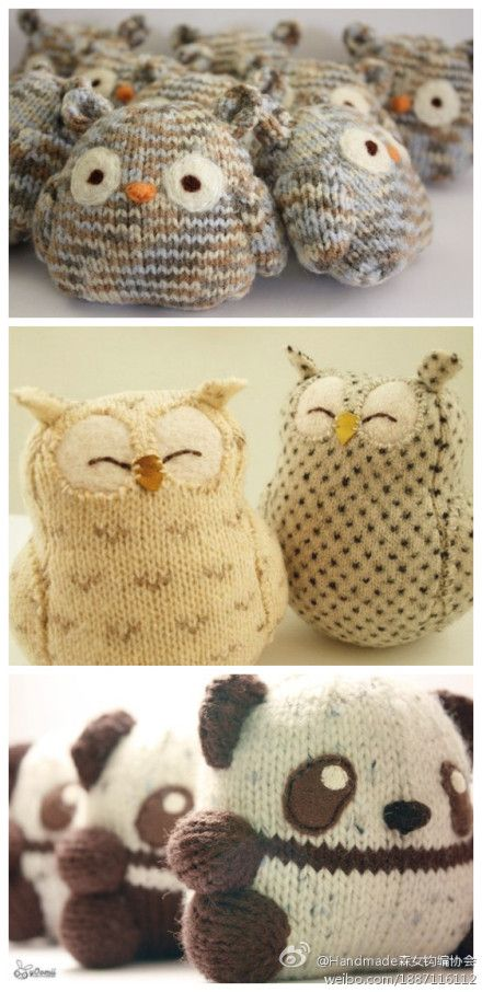 Knitting Animals Amigurumi : These are adorable but the directions in japanese