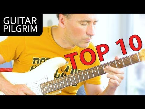 Top 10 Easy Awesome Guitar Solos Youtube In 2020 Guitar Guitar Solo Guitar Lessons