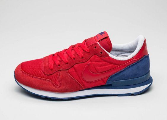 Nike Internationalist (University Red / University Red - Deep Royal Blue)
