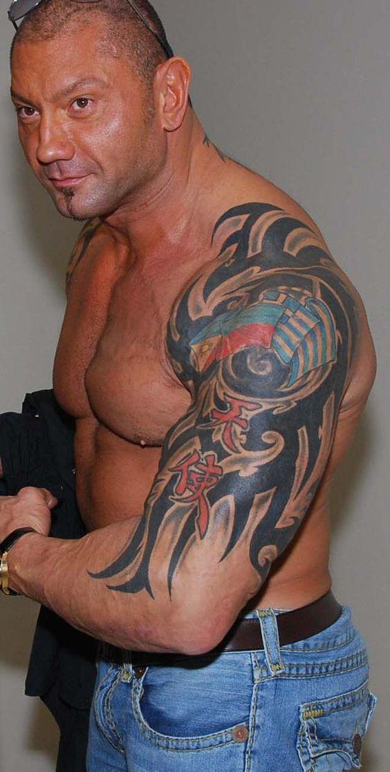 Free Download Batista Left Arm Tattoos Design, Tattoos Japoneses, Tattoo Tribal, Tattoo ivr