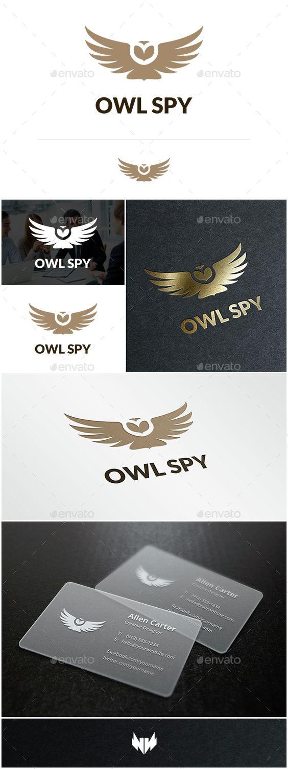 Owl Spy - Logo