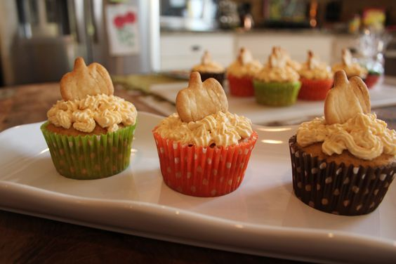 Pumpkin Pie Cupcakes: Perfect for Fall!