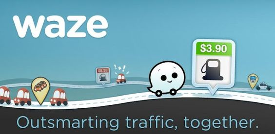 Waze - Lovely app for navigation & updates on traffic, road blocks, potholes etc. It also gives you an opportunity to contribute & score points...