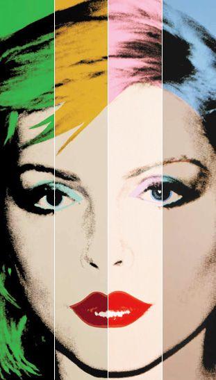 Andy Warhol Debbie Harry-inspired NARS makeup