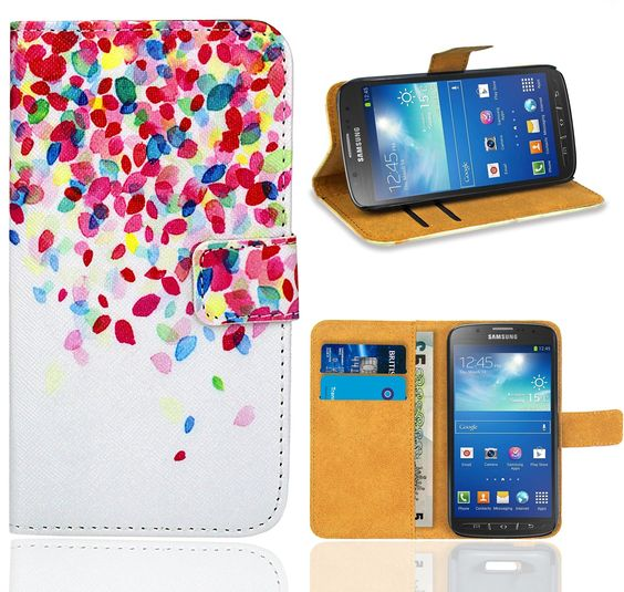 Samsung Galaxy S4 Active i9295 Handy Tasche, FoneExpert Wallet Case Flip Cover…