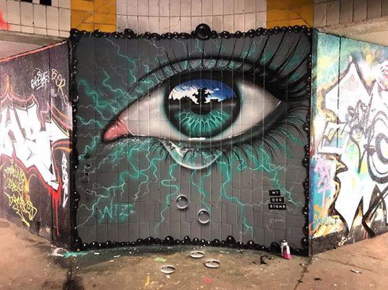 My Dog Sighs In Exeter Devon Uk 2019 Installation Street Art Street Art People Art