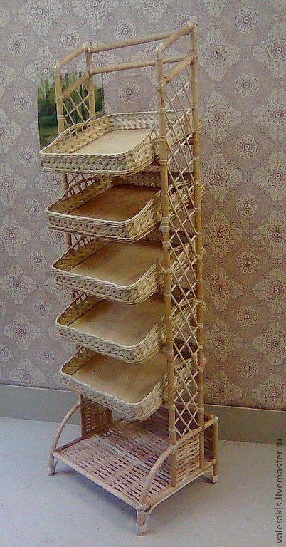 Мебель ручной работы. Ярмарка Мастеров - ручная работа Плетёная стойка для магазинов. Handmade.