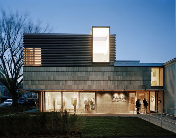 Provincetown Art Association and Museum / Provincetown / Massachusets | Architect: Machado and Silvetti Associates