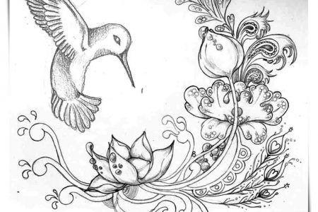Dibujos De Flores De Cempasuchil A4 Flores Para Dibujar Flores Dibujadas A Lapiz Dibujos De Pajaro