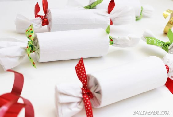 Candy Roll Wrapped Presents Toilets Wraps And Songs