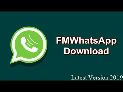 Fm Whatsapp Latest Version Free Download 2019 Tech4tips Https