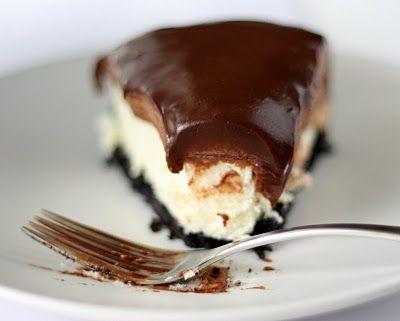 Chocolate Mousse Cheesecake.. Oreo espresso crust..