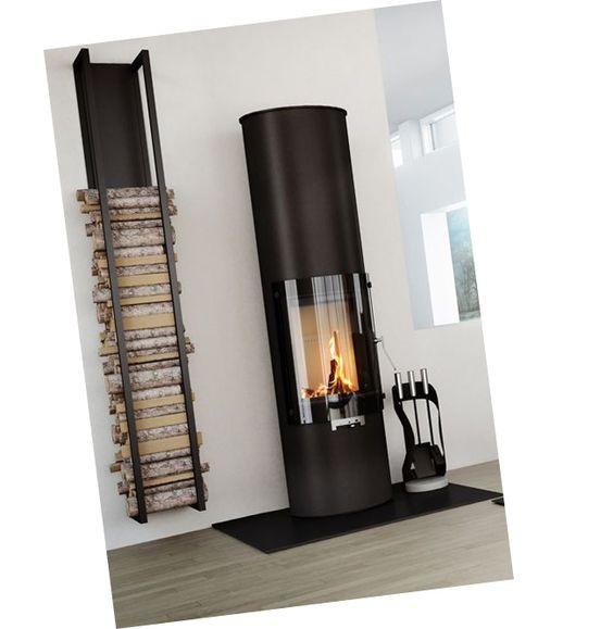 15 ides de chemines ou poles bois - Idee Deco Poele A Bois
