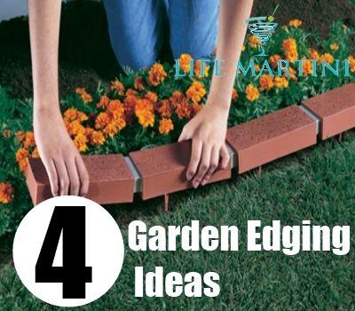 garden and more gardens garden edging diy and crafts martinis ideas