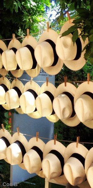 Sombreros para tu boda