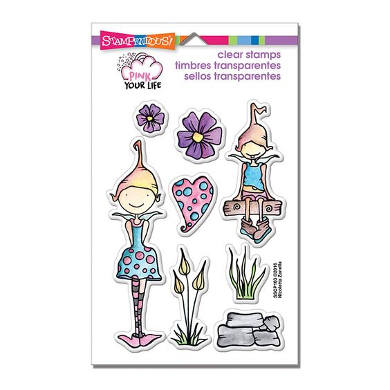 Artist Nicoletta Zanella from the Pink Your Life Design Team has created some wonderful, whimsical characters that are joining the Stampendous Family. We're so excited to welcome the Whisper …: