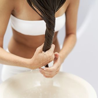 """Indian women are known for beautiful hair,"" says Purohit. ""Hair oil massages are a big thing. Once a week, we apply coconut, olive or almond oil to hair, massage it in for five minutes, leave on for 10, then shampoo."