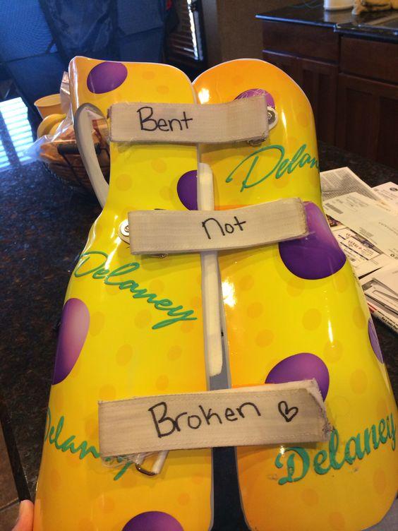 Bent not broken!