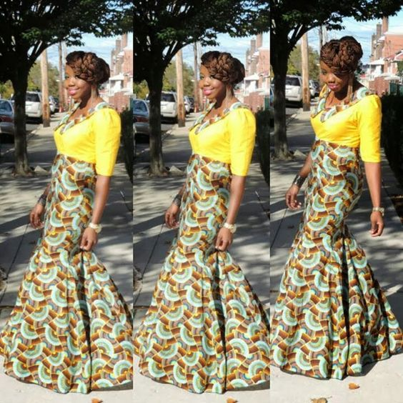 Long dress kitenge official dresses – Dress best style form
