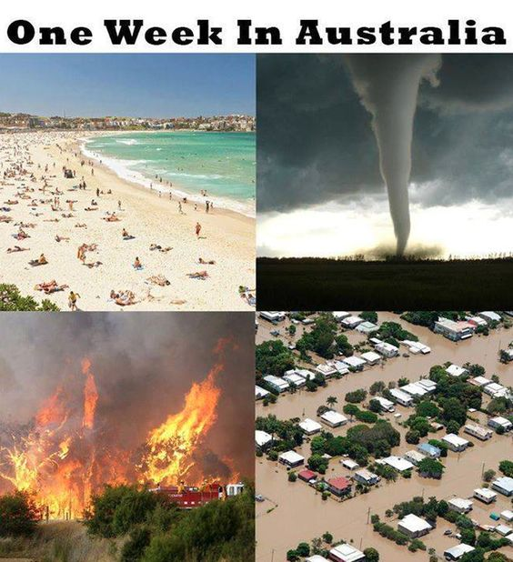 On weather: | 29 Of The Funniest Memes About Australia: