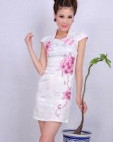 Chinese style slim-fit vintage cheongsam dress