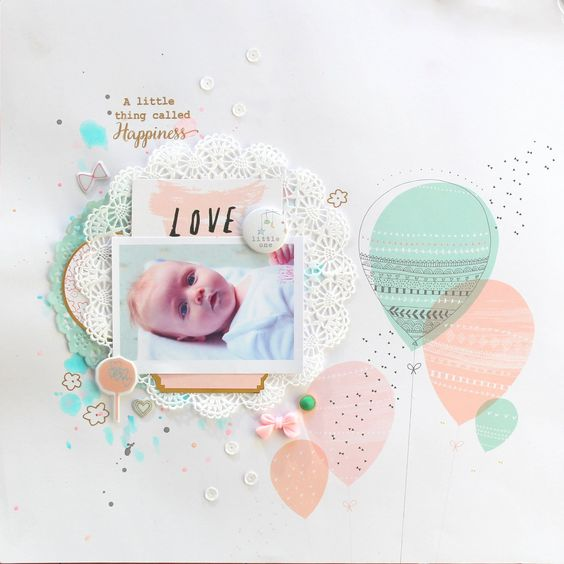 A Little Thing Called Happiness - Scrapbook.com