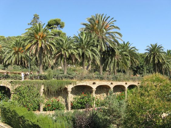 Barcelona. Parc Guell.