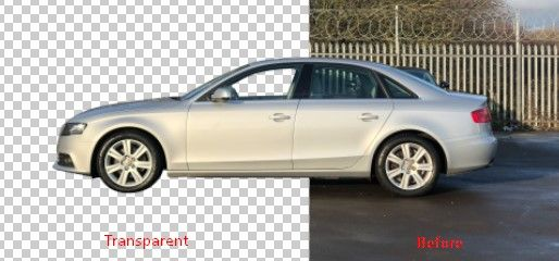 How To Car Transparent Background With Images Car