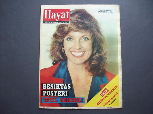 linda gray magazine covers | BESIKTAS ( TURKISH SOCCER TEAM )( FOOTBALL ) 2 page(s)/centerfold ...