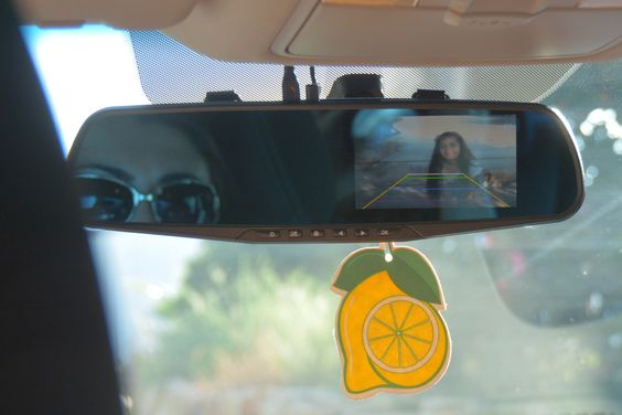 Buy GOSO dual lens rear view mirror camera at just $44.95 with free shipping at GOSO Direct.